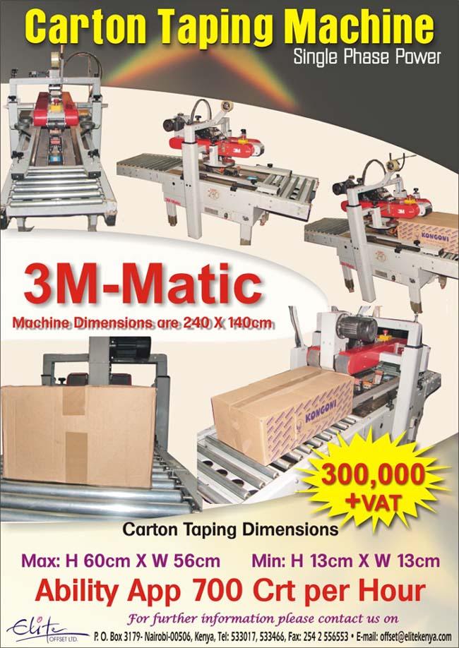 CartonTaping Machine