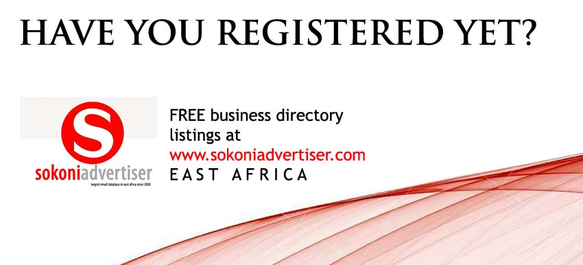 Sokoni Directory Ad