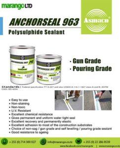 Anchorseal 963 Polysulphide Sealant