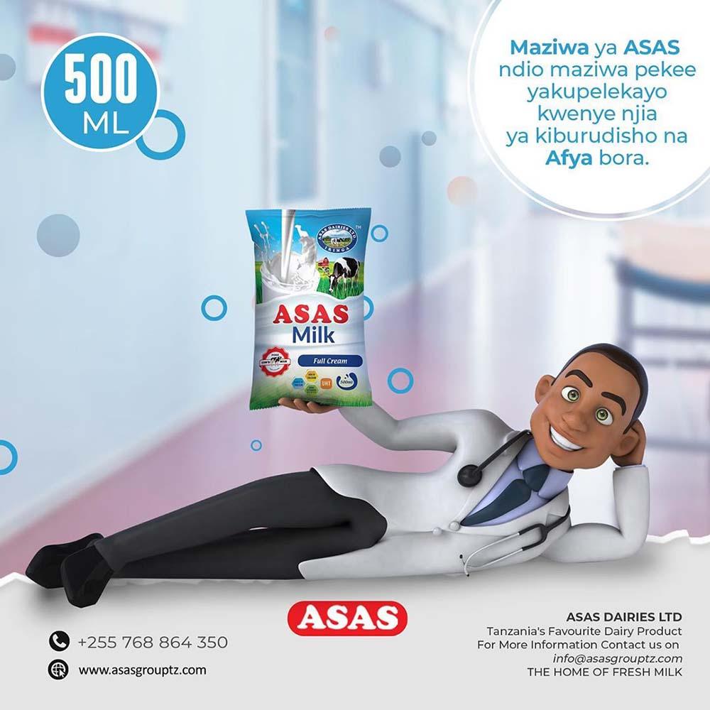 Full Cream Milk 500ml