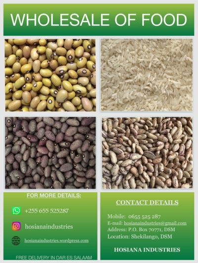 Wholesale of food