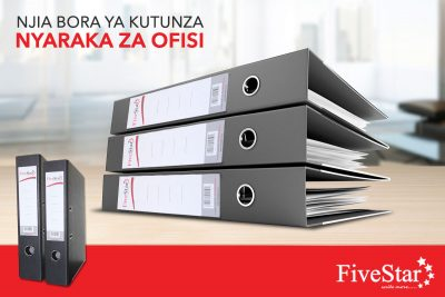 Box files for office documents