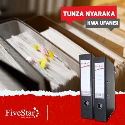 Fivestar printers box files