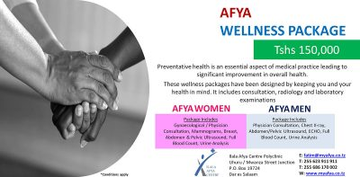 Health packages for men and women