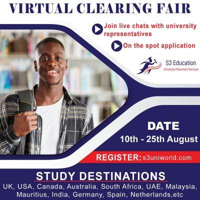 Study destinations virtual fair