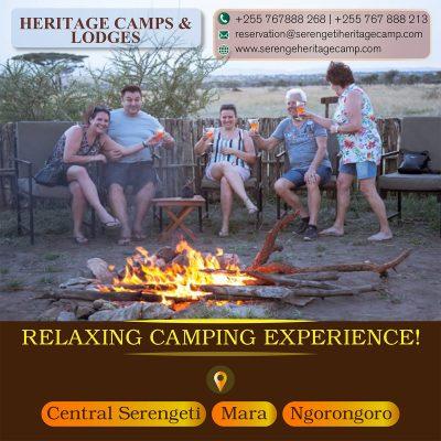 Heritage Camps & Lodges Camping Tanzania