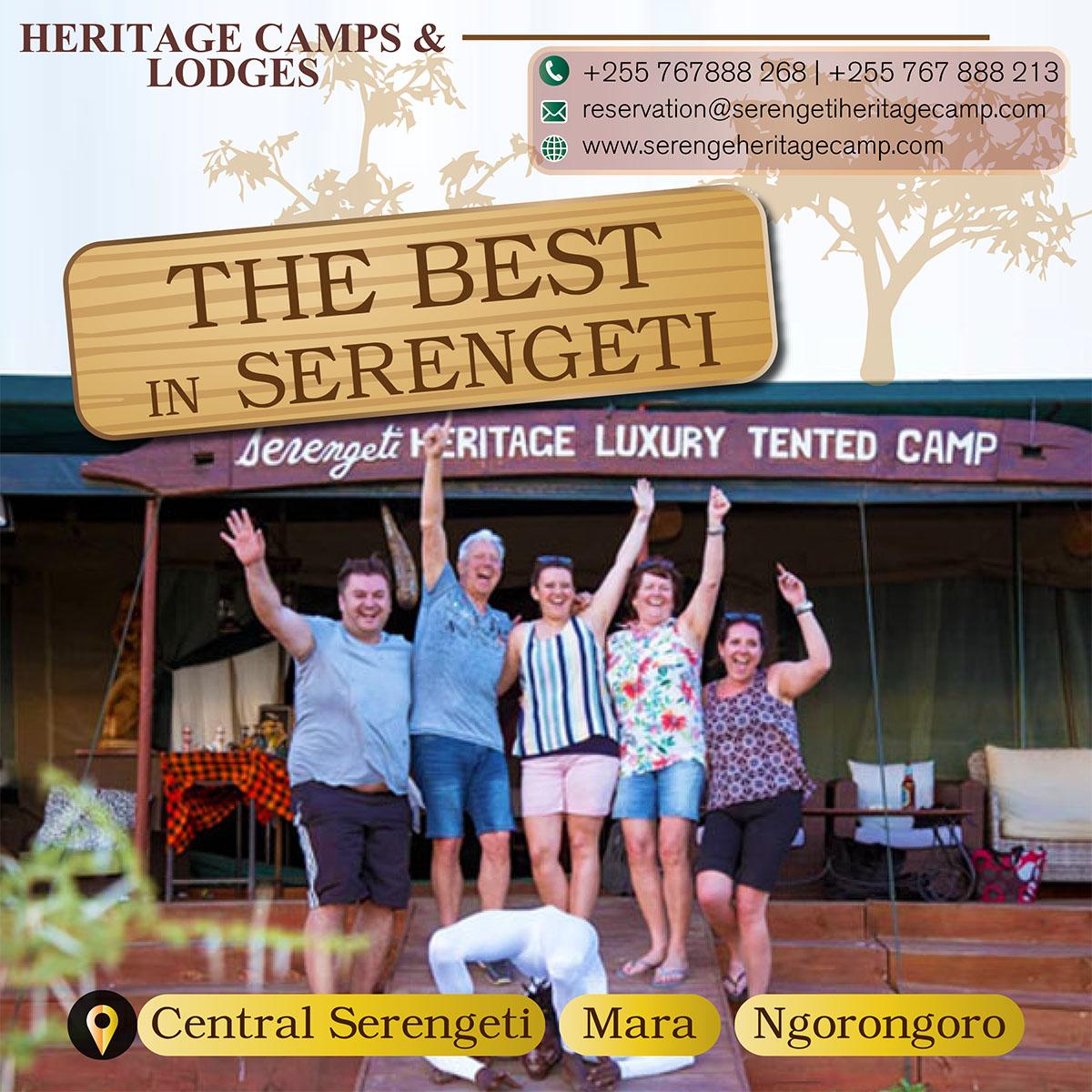 Heritage Camps & Lodges Serengeti Tanzania