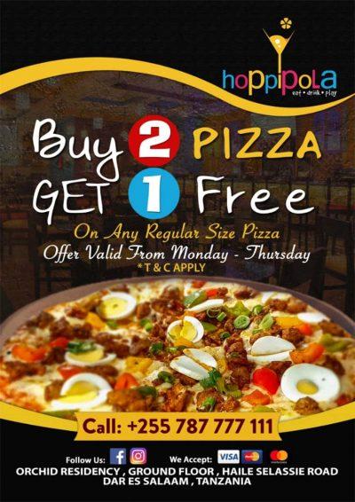 Hoppipola Pizza offer
