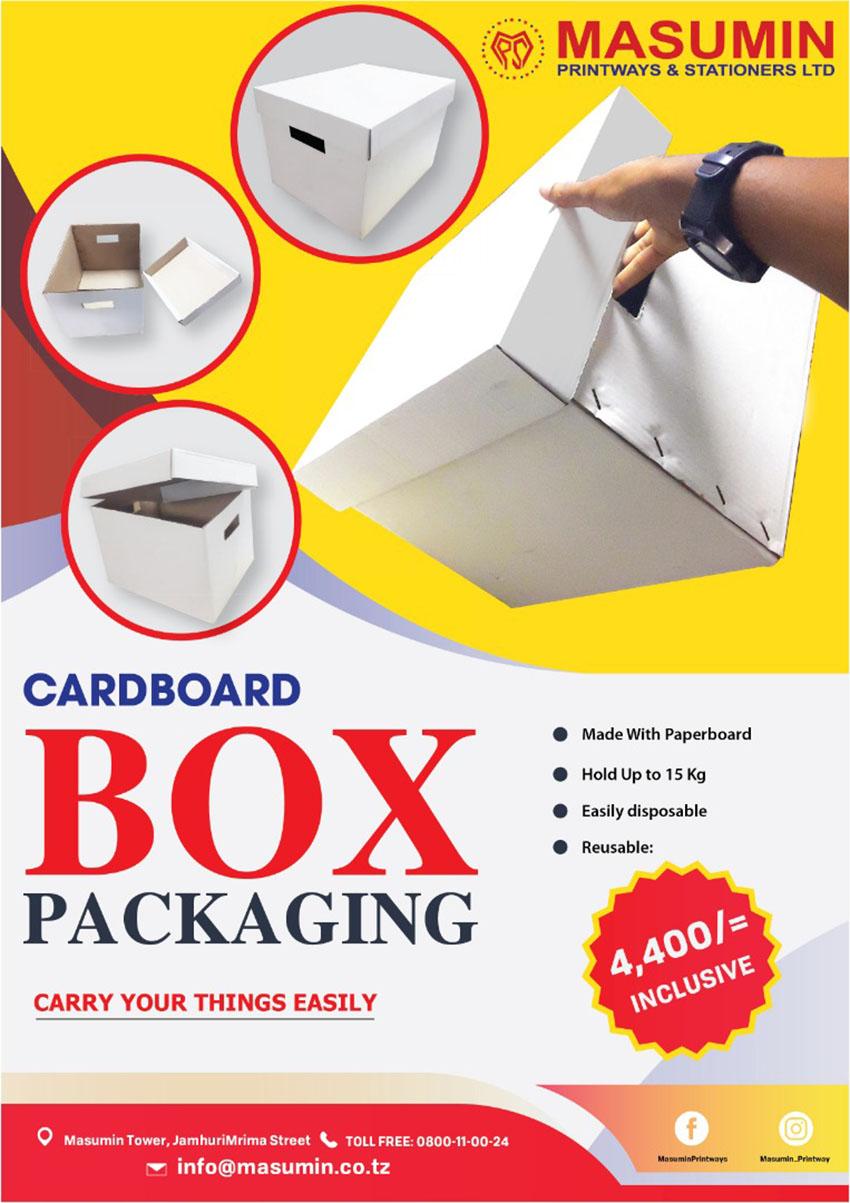 Masumin Printways & Stationers Packaging