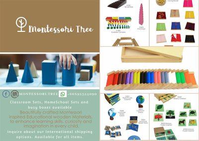 Montesssori Tree Kindergarten resources