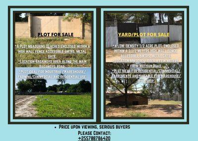 Hafeez Thawer Plots for Sale