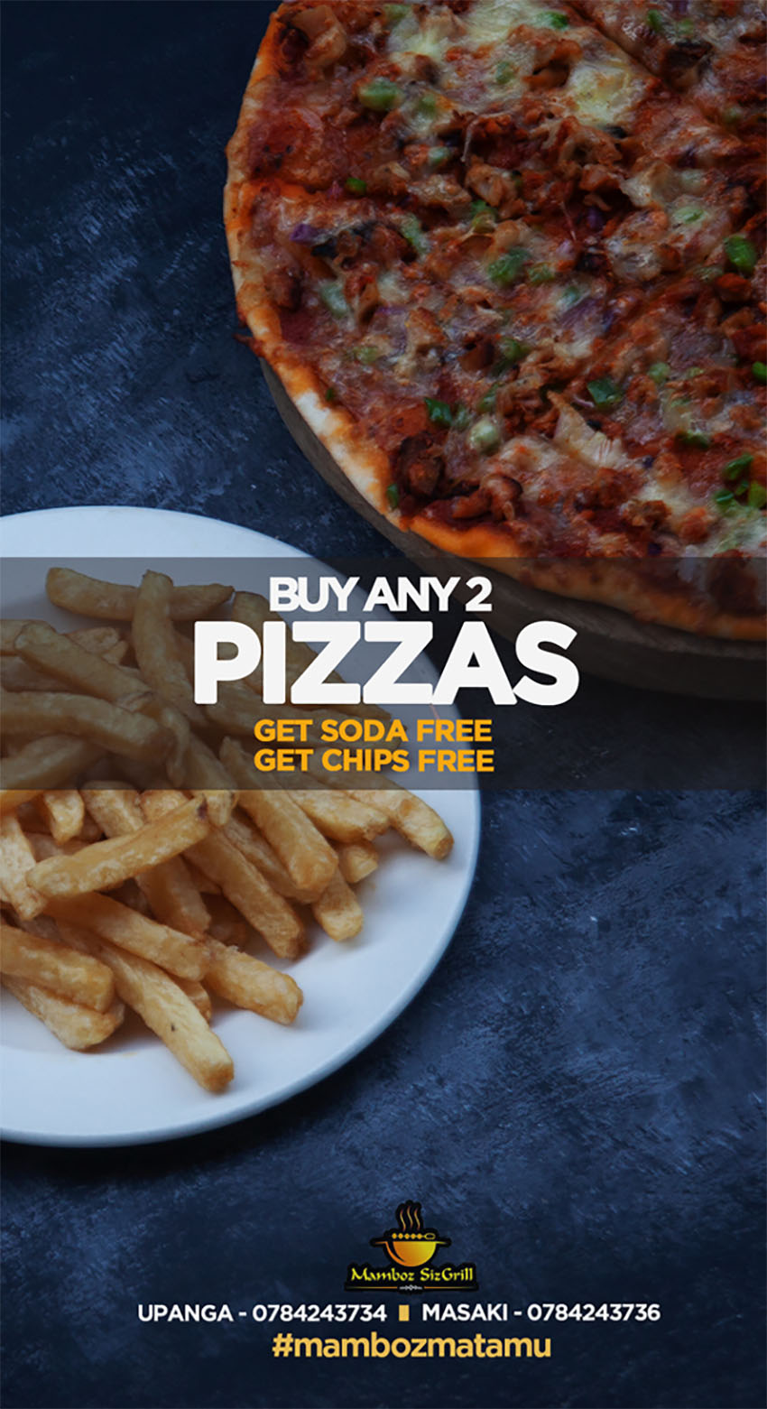 Mamboz Sizgrill Pizza offer