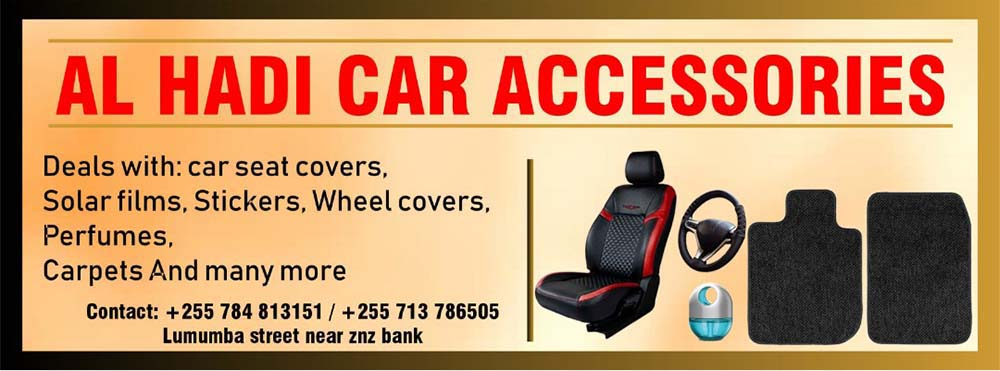 Al Hadi Car Accessories Dar es Salaam