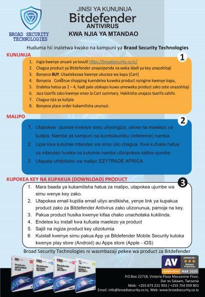 Bitfender Antivirus Broad Security Technologies