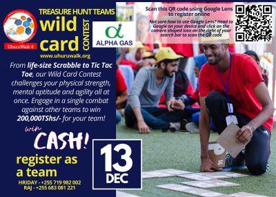 Uhuru Walk 6 Alpha Gas Wildcard Contest