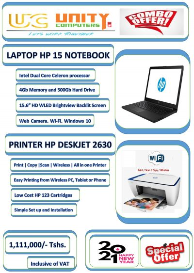 Special Offer for HP Laptop and HP printer
