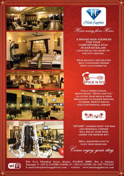 Hotel Sapphire Dar es Salaam