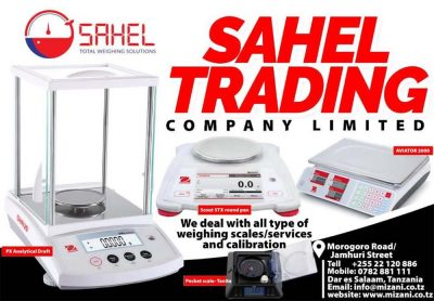 Sahel Trading Total weighing solutions
