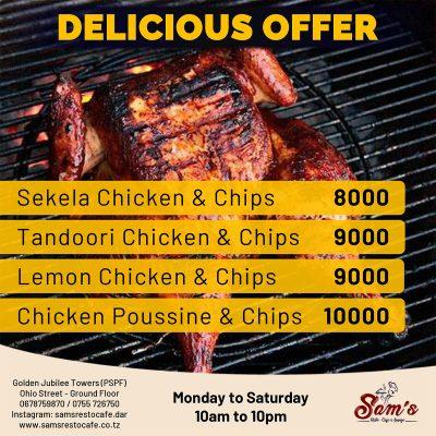 Sams-Resto-Cafe-Lounge-Delicious-Offer