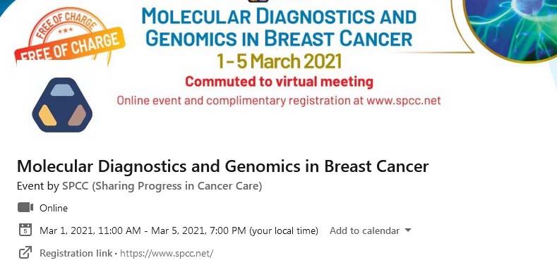 SPCC Molecular Diagnostics and Genomics in Breast Cancer