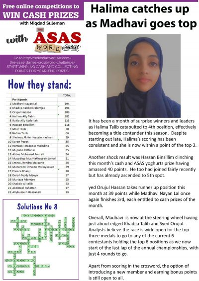 ASAS-Word-Contest-news-halima-cateches-up-as-Madhavi-goes-top