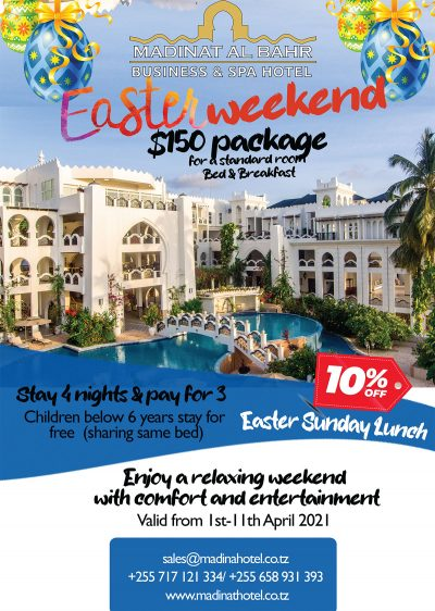 Madinat-al-Bahr-Business-Spa-Hotel-Easter-Weekend-B&B