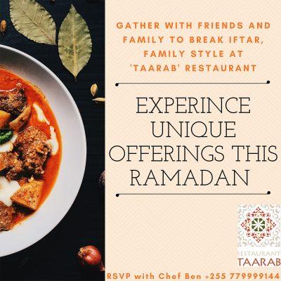 Double-Tree-by-Hilton-Zanzibar-Experience unique offerings this Ramadan