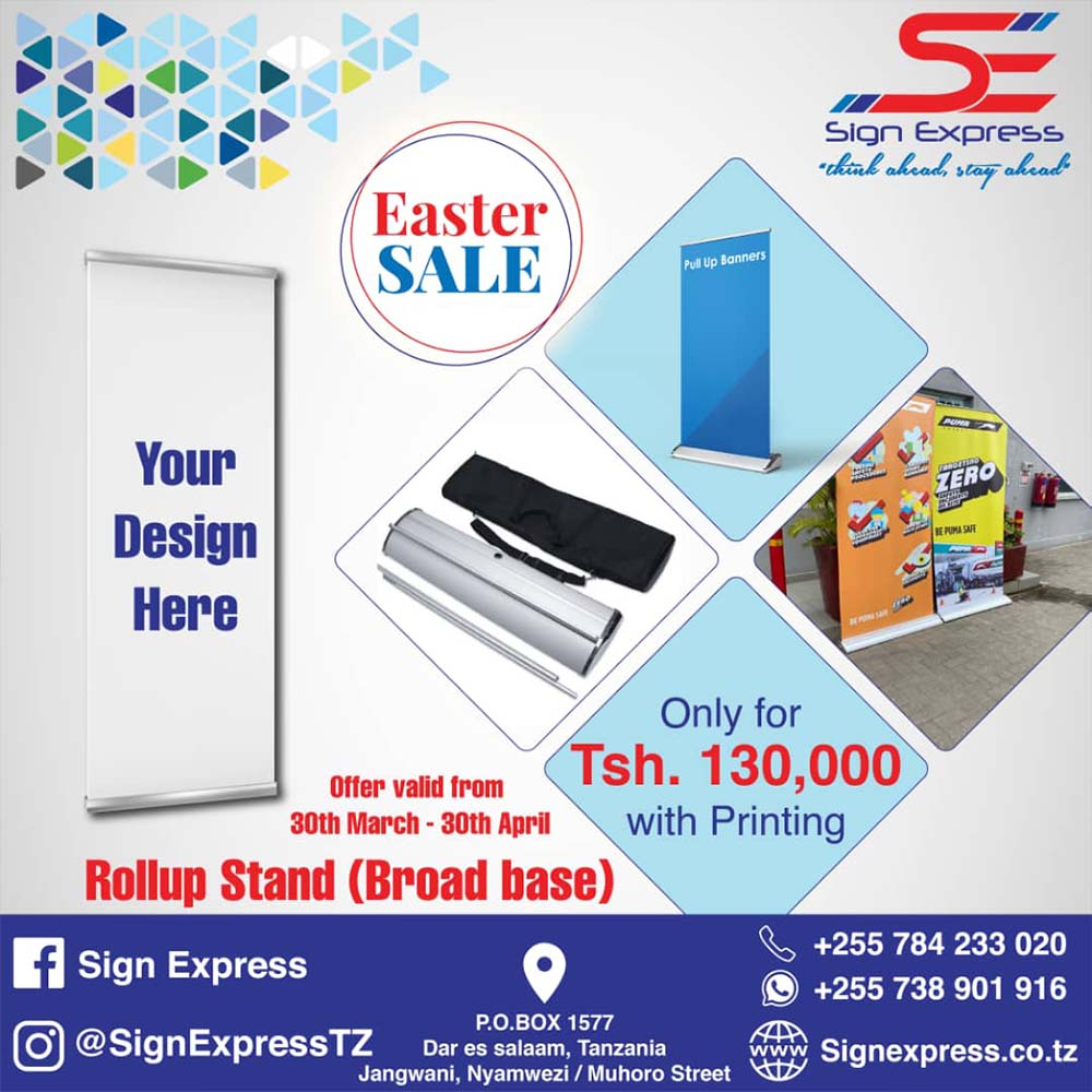 Sign-Express-Rollup-Stand-Special-Easter-Sale