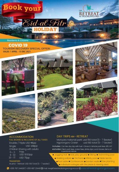 The-Retreat-At-Ngorongoro-Book-your-Eid-al-Fitr-Holiday