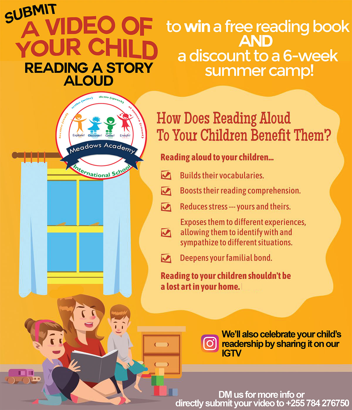 Meadows-Academy-Submit-a-video-of-your-child-reading-a-story-aloud