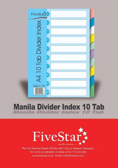 Fivestar-Manila-Divider-Index-10-Tab